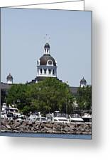 Kingston City Hall Greeting Card by Jim Beattie