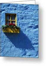 Kinsale, Co Cork, Ireland Cottage Window Greeting Card by The Irish Image Collection