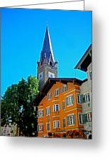 Kitzbuehel - Austria Greeting Card by Juergen Weiss