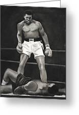 Knockdown Greeting Card by L Cooper