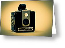 Kodak Brownie Greeting Card by Bob Orsillo