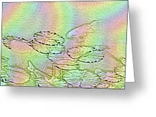 Koi Rainbow Greeting Card by Tim Allen