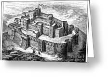 Krak Des Chevaliers Greeting Card by Granger