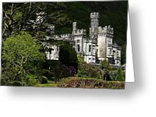 Kylemore Abbey, Connemara, County Greeting Card by Peter Zoeller