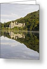 Kylemore Abbey, County Galway, Ireland Greeting Card by Peter McCabe