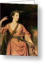 Lady Dawson Greeting Card by Sir Joshua Reynolds
