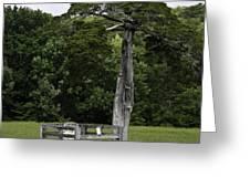 Lafayette Meeks Cemetery Appomattox Virginia Greeting Card by Teresa Mucha