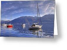Lago Maggiore Greeting Card by Joana Kruse