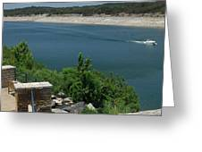 Lago Vista Texas Lake Travis Greeting Card by Elizabeth Sullivan