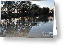 Lagoon At Dusk Greeting Card by Joanne Kocwin