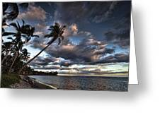 Lahaina Evening Greeting Card by James Roemmling