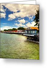 Lahaina Post Card 2 Greeting Card by Kelly Wade