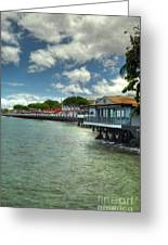 Lahaina Postcard 3 Greeting Card by Kelly Wade
