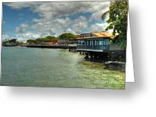 Lahaina Postcard 4 Greeting Card by Kelly Wade