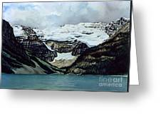 Lake Louise Greeting Card by Scott Nelson
