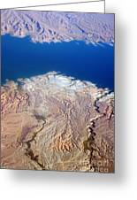 Lake Mead Nevada Aerial Greeting Card by James BO  Insogna