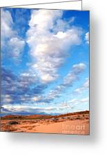 Lake Powell Clouds Greeting Card by Thomas R Fletcher