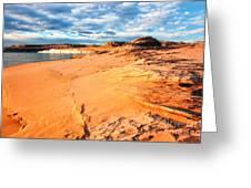 Lake Powell Serenity Greeting Card by Thomas R Fletcher
