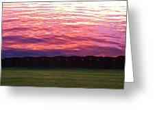 Lake Sky Greeting Card by Jeff Moose