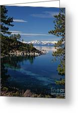 Lake Tahoe Smooth Greeting Card by Vance Fox