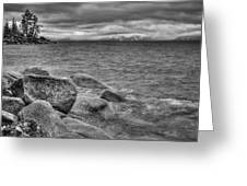 Lake Tahoe Winter Storm Greeting Card by Scott McGuire