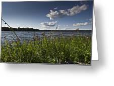 Lake View Greeting Card by Gary Eason