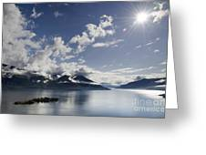 Lake With Islands Greeting Card by Mats Silvan