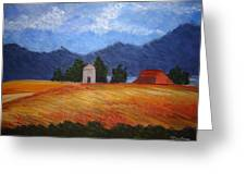 Landscape Greeting Card by Bridget Dixon