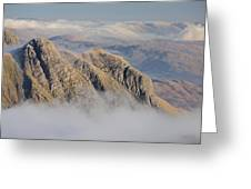 Langdale Pikes Greeting Card by Stewart Smith