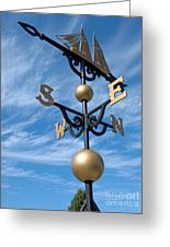 Largest Weathervane Greeting Card by Ann Horn