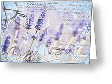 Lavender Time Greeting Card by Anahi DeCanio
