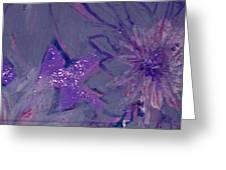 Lavish Lavender Greeting Card by Anne-Elizabeth Whiteway