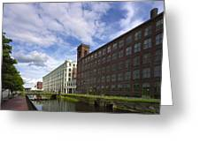 Lawrnence Mills Greeting Card by Jan Faul