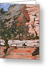 Layers Greeting Card by Sandy Tracey