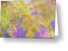 Leaves . . . Trees And Books Greeting Card by Judi Bagwell