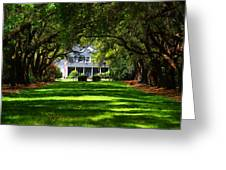 Legare Waring House Charleston Sc Greeting Card by Susanne Van Hulst