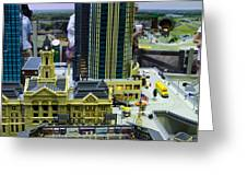 Legoland Dallas I Greeting Card by Ricky Barnard