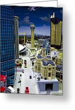Legoland Dallas Iv Greeting Card by Ricky Barnard
