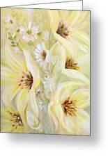 Lemon Chiffon Greeting Card by Joanne Smoley
