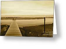 Lets Take A Walk Greeting Card by Eric Chapman