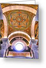 Library Of Congress I Greeting Card by Steven Ainsworth