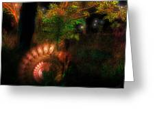 Lichtwesen Greeting Card by Mimulux patricia no