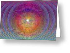 Lightwave Geometrics Greeting Card by Tim Allen