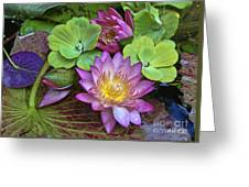 Lilies No. 28 Greeting Card by Anne Klar