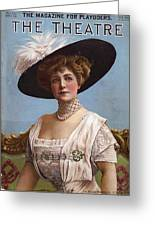 Lillian Russell On Cover Greeting Card by Stefan Kuhn