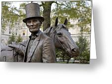 Lincoln Statue, 2008 Greeting Card by Granger