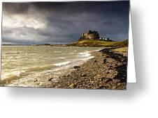 Lindisfarne Castle, Holy Island Greeting Card by John Short