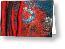 Lined Up Reds     Greeting Card by Alexandra Jordankova