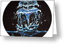 Liquid Jelly Greeting Card by Marco Antonio Aguilar