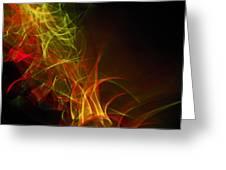 Liquid Saphire 25 Greeting Card by Cyryn Fyrcyd